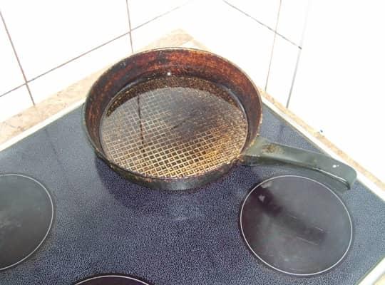 разогреваем сковородку