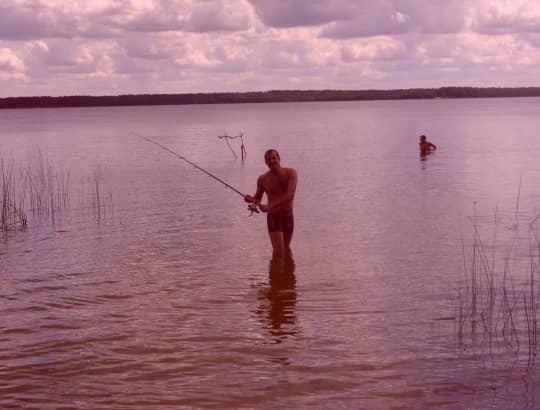 начало рыбалки