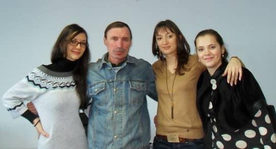Вадим с коллективом
