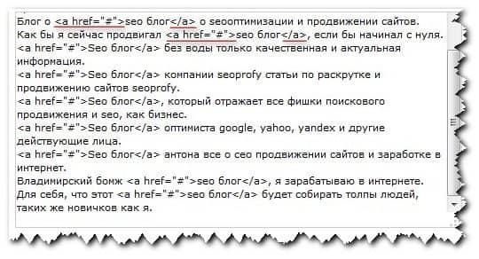 формат ссылок html