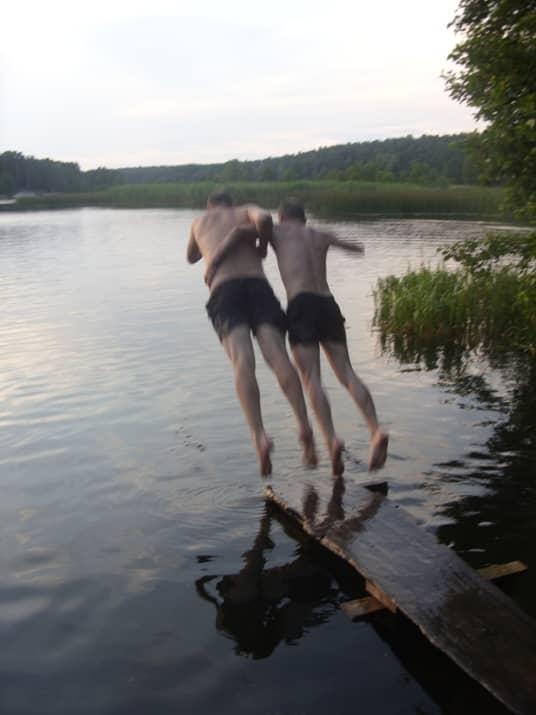 парный прыжок