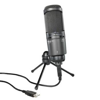 Audio-Technica AT2020-usb+