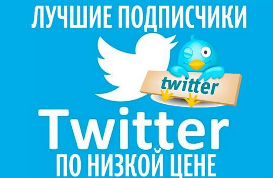 накрутка живых подписчиков твиттер