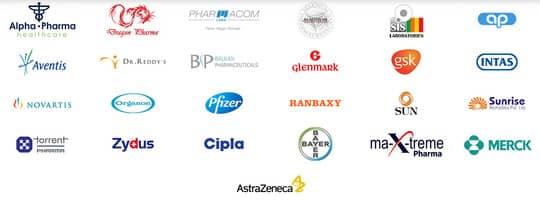известные фармакологические бренды