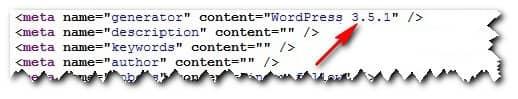 узнаем движок сайта через исходный код страницы