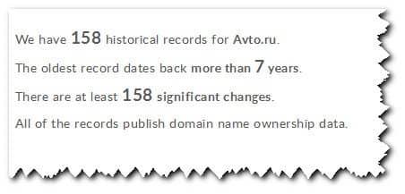 упоминания по домену