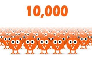 10000 посетителей - моя цель