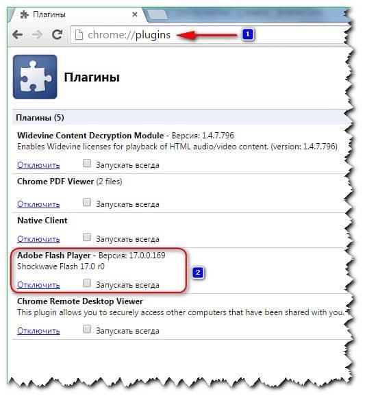 модули браузера Google Chrome