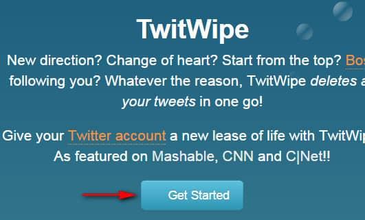 сервис TwitWipe