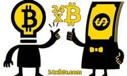 cервис обмена электронных валют - 24xbtc.com