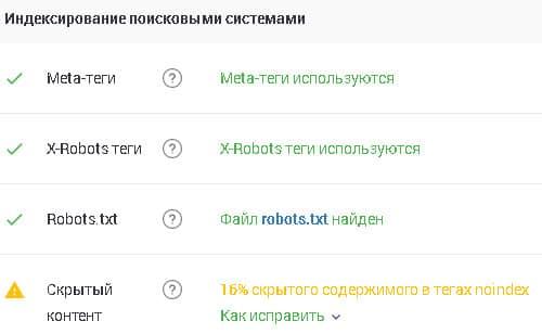 индексирование поисковыми системами