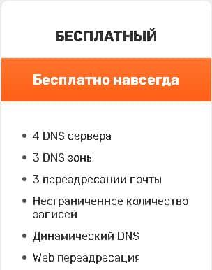 бесплатные DNS